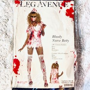 Bloody Nurse Halloween Costume Size Adult Small
